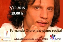 Fernando Otero jazz piano recital